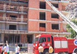 Antalya'da inşaatta göçük: 3 yaralı