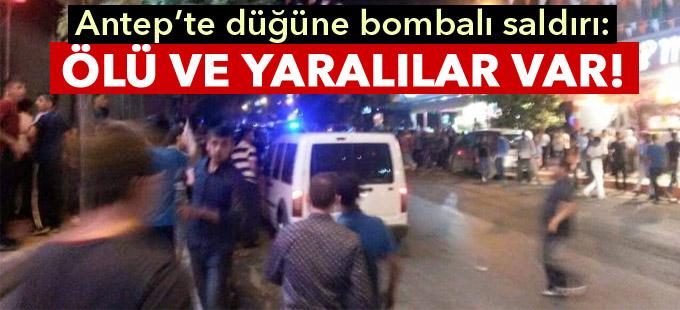 Antep'te düğüne bombalı saldırı: Ölü sayısı 50'ye çıktı