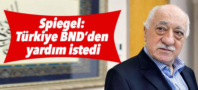 Spiegel: Türkiye BND'den yardım istedi