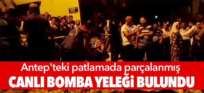 Antep'teki patlamada parçalanmış canlı bomba yeleği bulundu