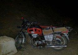 Sepetli motosiklet devrildi: 3 yaralı