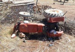 Antalya'da traktör kazası: 1 ölü, 1 yaralı