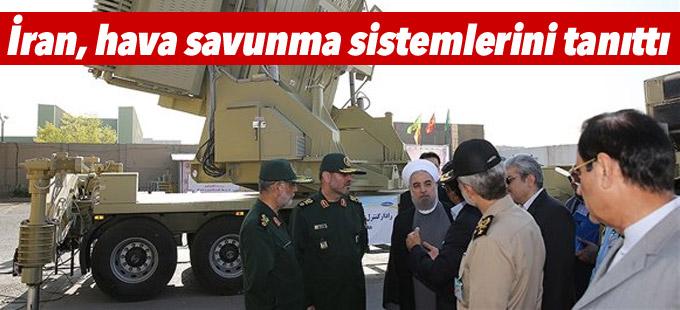 İran, hava savunma sistemlerini tanıttı