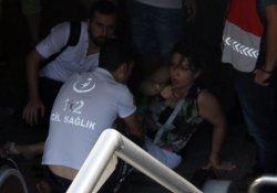 Taksim Metrosu'nda yürüyen merdiven kazası!