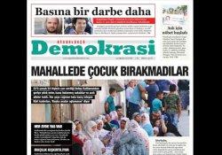 Özgürlükçü Demokrasi gazetesi bayilerde