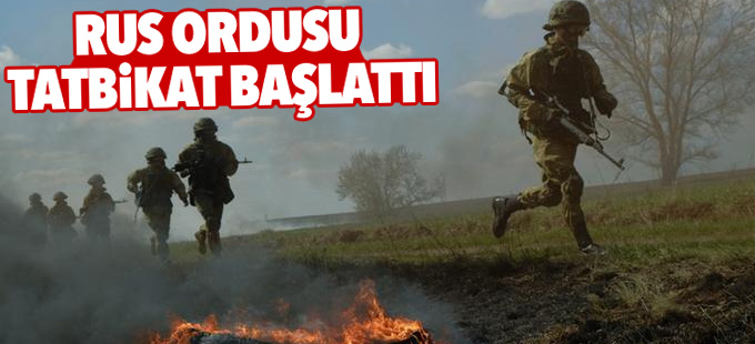 Rus ordusu Kafkasya'da tatbikat başlattı
