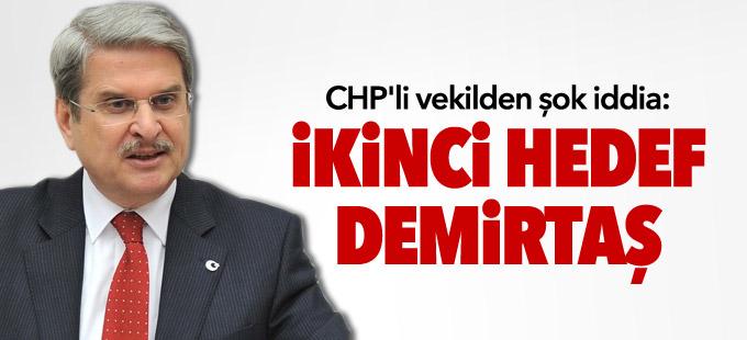 CHP'li vekilden şok iddia: İkinci hedef Demirtaş