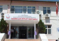 Sason Devlet Hastanesi'ne 2 cenaze getirildi