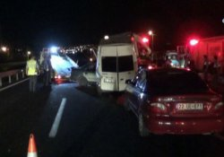 İstanbul'da zincirleme kaza: 1'i ağır 6 yaralı