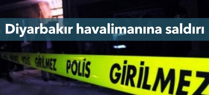 Diyarbakır havalimanına roketli saldırı