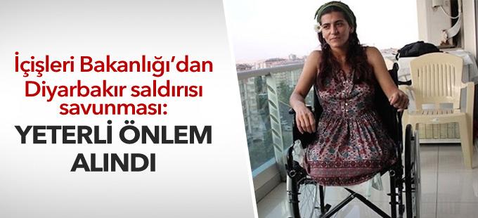 İçişleri Bakanlığı'ndan Diyarbakır saldırısı savunması: Yeterli önlem alındı