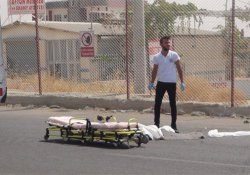 Nusaybin'de TIR'ın çarptığı çocuk öldü