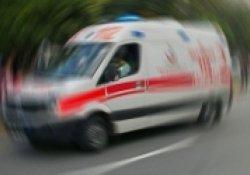 Damdan düşen çocuk ağır yaralandı