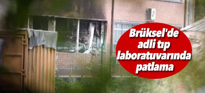 Brüksel'de adli tıp laboratuvarında patlama