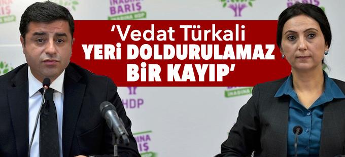 HDP: Vedat Türkali yeri doldurulamaz bir kayıp