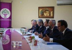 Hollanda Dışişleri Bakanı HDP'yi ziyaret etti