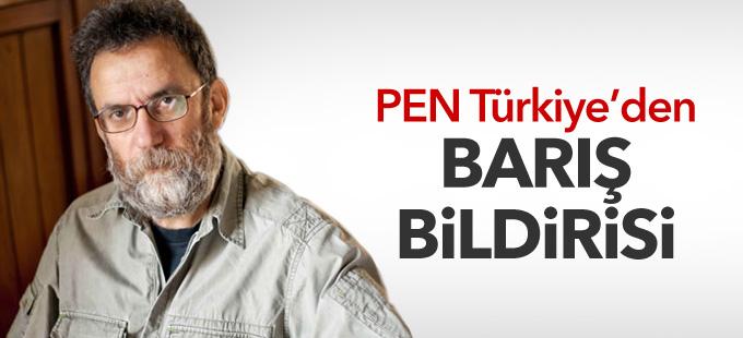 PEN Türkiye'den barış bildirisi