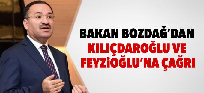 Bakan Bozdağ'dan Kılıçdaroğlu ve Feyzioğlu'na çağrı