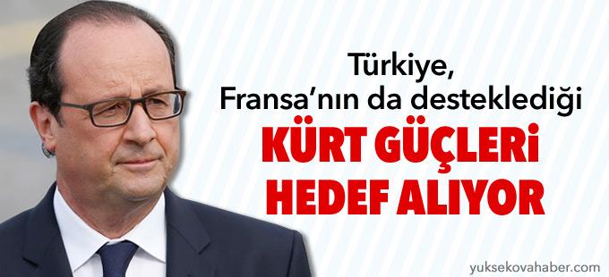 """""""Türkiye, Fransa'nın da desteklediği Kürt güçleri hedef alıyor"""""""