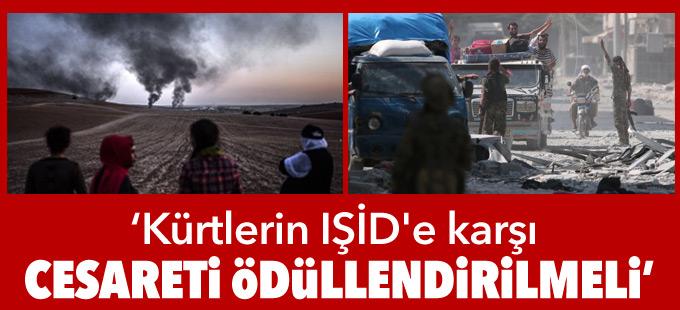 Daily Telegraph yazarı: Kürtlerin IŞİD'e karşı cesareti ödüllendirilmeli