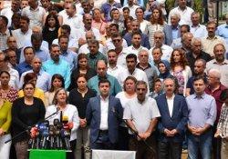HDP, DBP, DTK, HDK ve KJA ortak açıklama yapacak