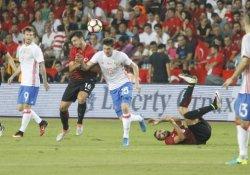 Türkiye-Rusya maçı golsüz sona erdi