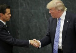 Trump ve Meksika arasında duvar parası kavgası