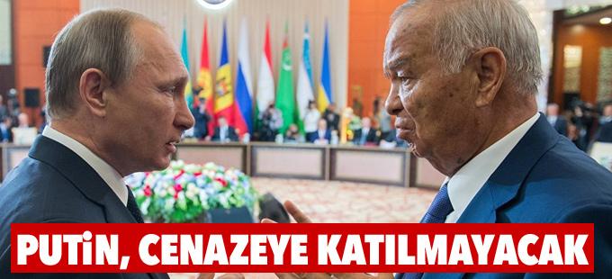 Putin, Kerimov'un cenazesine katılmayacak