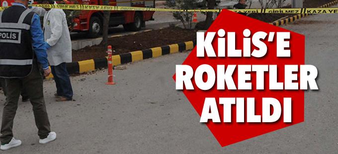 Kilis kent merkezine Suriye'den 3 roket atıldı