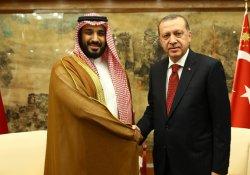 Erdoğan, Suudi Savunma Bakanı Salman'la görüştü