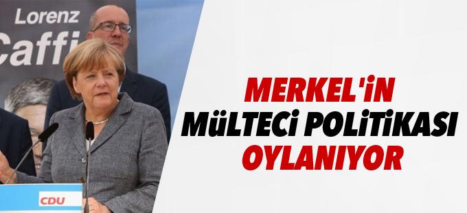 Merkel'in mülteci politikası 'oylanıyor'
