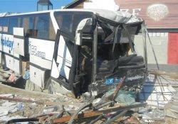 Tur otobüsü faciası: 2 ölü, 5 yaralı