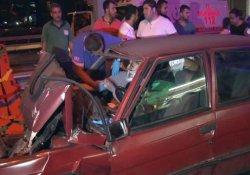 Şişli'de düğün konvoyunda zincirleme kaza: 3 yaralı