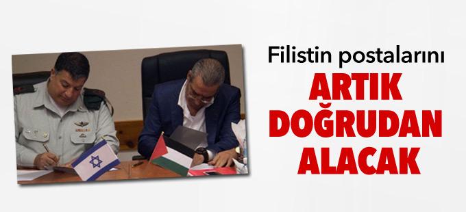Filistin postalarını artık doğrudan alacak
