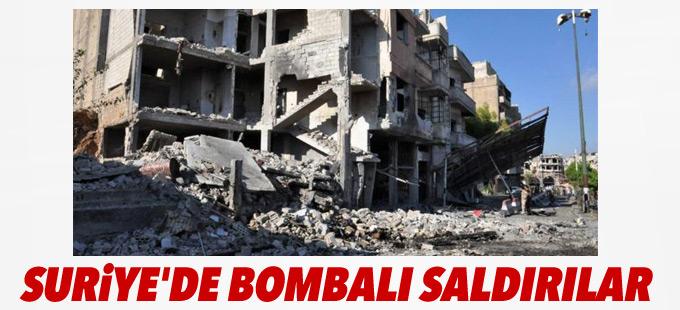 Suriye'de bombalı saldırılar: En az 38 ölü