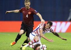 Türkiye, Hırvatistan deplasmanında 1-1 berabere kaldı