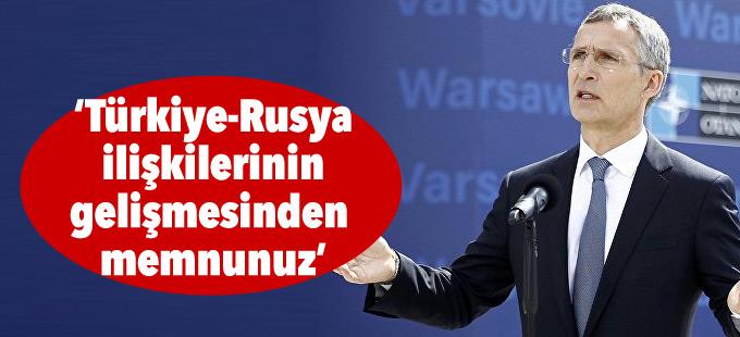 NATO: Türkiye-Rusya ilişkilerinin gelişmesinden memnunuz