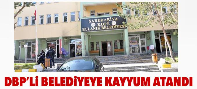 DBP'li Bulanık Belediyesi'ne kayyum atandı