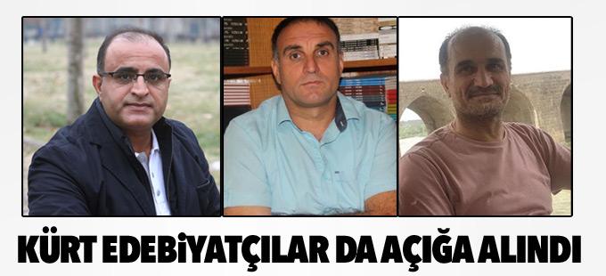Kürt edebiyatçılar da açığa alındı
