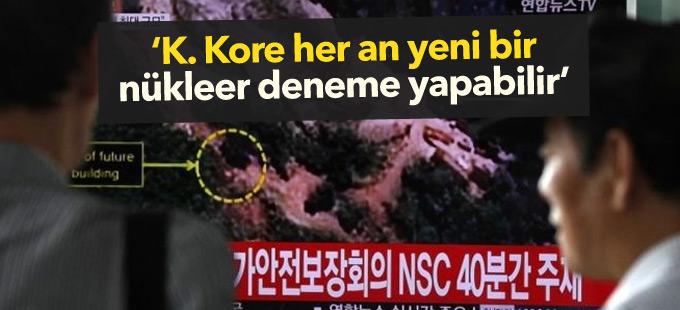 G.Kore: K. Kore her an yeni bir nükleer deneme yapabilir