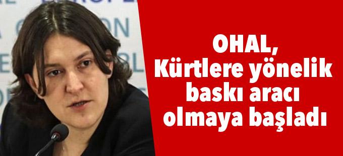 AP Raportörü Piri: OHAL, Kürtlere yönelik baskı aracı olmaya başladı