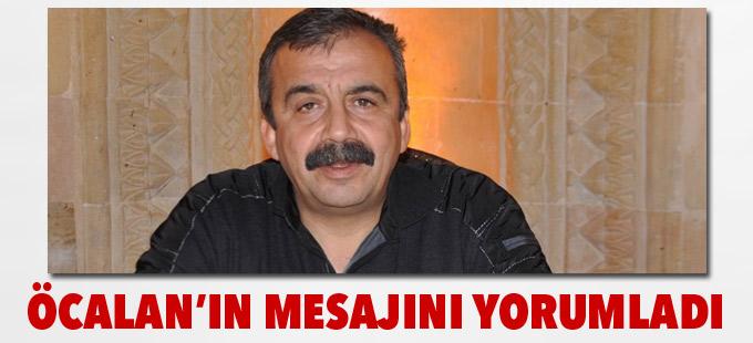 Sırrı Süreyya Önder, Öcalan'ın mesajını yorumladı