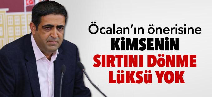 Baluken: Öcalan'ın önerisine kimsenin sırtını dönme lüksü yok