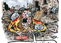 İtalyan kasabadan Charlie Hebdo'ya deprem karikatürü yüzünden suç duyurusu