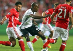Beşiktaş deplasmanda Benfica ile 1-1 berabere kaldı