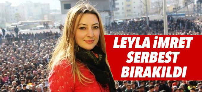 Leyla İmret ve beraberindeki siyasetçiler serbest bırakıldı