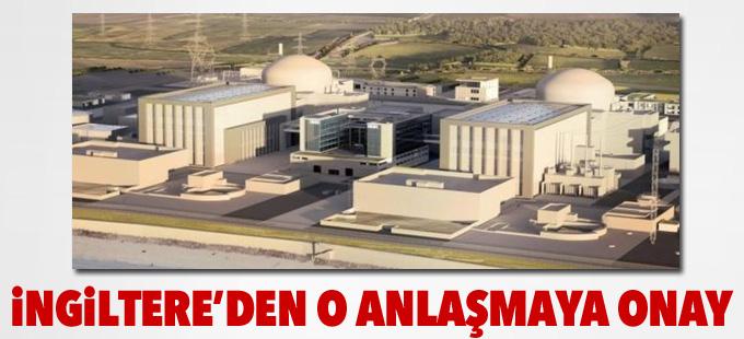 İngiltere Hinkley Point nükleer santrali anlaşmasını onayladı