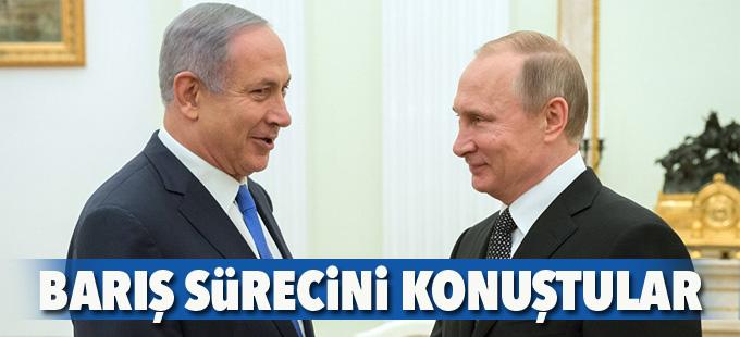 Putin ve Netanyahu, İsrail-Filistin müzakerelerini ele aldı