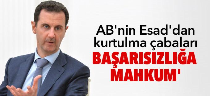 AB'nin Esad'dan kurtulma çabaları başarısızlığa mahkum'