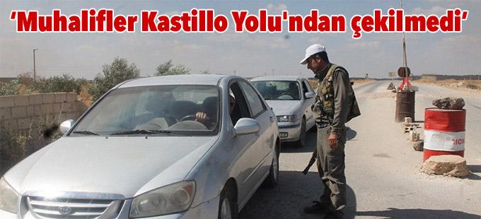 Rusya: Muhalifler Kastillo Yolu'ndan çekilmedi